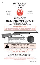 Ruger Mini Thirty Rifle