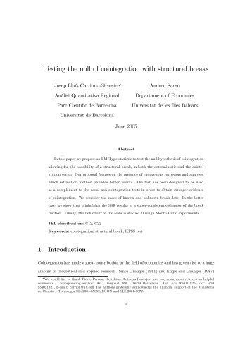 Testing the null of cointegration with structural breaks