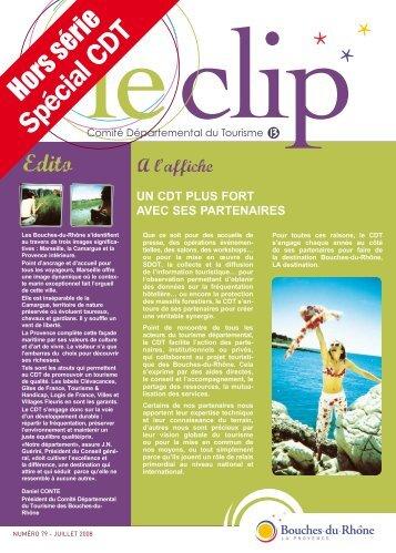 Spécial CDT - Accueil - Bouches du Rhône