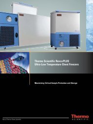 Thermo Scientific RevcoPLUS Ultra-Low Temperature Chest Freezers