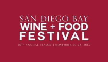 2013SDBWFF-Sponsorsh.. - San Diego Bay Wine and Food Festival