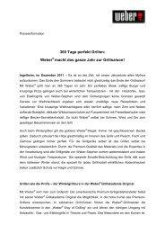 15.12.2011 - Weber Wintergrillen - Weber - Der Grill. Das Original.