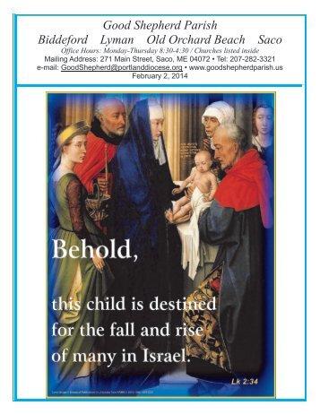 Bulletin - February 2, 2014