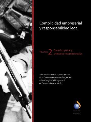 Complicidad empresarial y responsabilidad legal - Revista ...