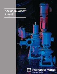 SOLIDS-HANDLING PUMPS - BBC Pump and Equipment