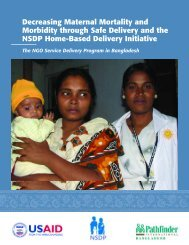 Decreasing Maternal Mortality and Morbidity through Safe Delivery ...