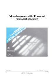 Broschüre Substanzabhängigkeit 2011 - Klinik Wysshölzli