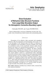 Direct evaluation of refractive-index structure functions from large ...