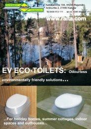 EV ECO-TOILETS - Raita Environment