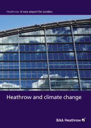 Heathrow Airport's emissions reductions efforts - Airports Council ...