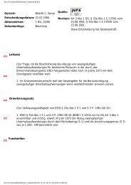 1 BvL 10/80 - Berliner Kampagne gegen Hartz IV