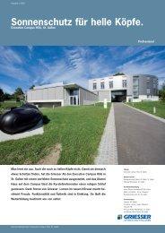 Sonnenschutz für helle Köpfe. - Sun-Protect GmbH