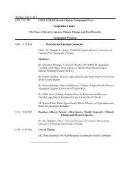 Tuesday, July 5, 2011 8:00 -5:05 PM USDA T-STAR ... - Caribvet