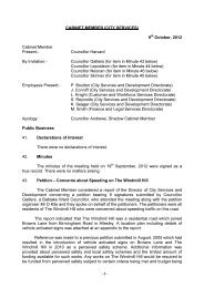 Minutes of Previous Meeting PDF 44 KB - Meetings, agendas, and ...