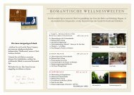 Arrangements Januar bis März 2014 - Romantik Hotel Johanniter ...