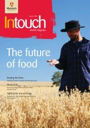 Download In Touch Autumn 2008 here (pdf 6mb) - Alumni - Murdoch ...