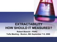 extractability how is it measured? - Tufts Health Care Institute