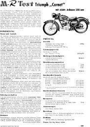 Test Cornet 200 ccm mit elektrischem Anlasser - TWN Zweirad IG