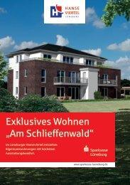"""Exklusives Wohnen """"Am Schlieffenwald"""" - Wohnungen in Lüneburg"""