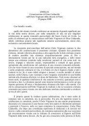 OMELIA Consacrazione di Dina Caldarella nell'Ordo ... - Webdiocesi