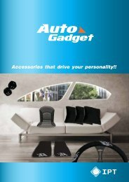 AUTOGADGET is very proud to bring you this range - Ipt