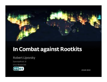 In Combat against Rootkits - Eicar