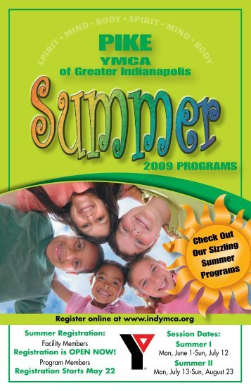 YMCA of Greater Indianapolis 2009 PROGRAMS