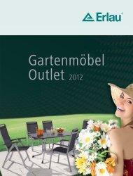 Gartenmöbel Outlet 2012 - Erlau