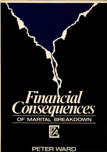 Financial Consequences of Marital Breakdown - Combat Poverty ...