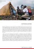 Relazione di Missione 2009 - Agire - Page 3