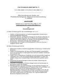 Elfte Verordnung zum Geräte- und Produktsicherheitsgesetz ... - ZLS