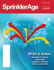 Sprinkler Age 2006-06 - American Fire Sprinkler Association