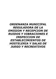 Ordenanza Ruidos Hostelería - Ayuntamiento de Balmaseda