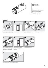 Installation instructions Roxtec Sleev-it™ Transition collar