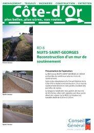 RD 8 NUITS SAINT GEORGES .indd - Conseil général de Côte-d'Or