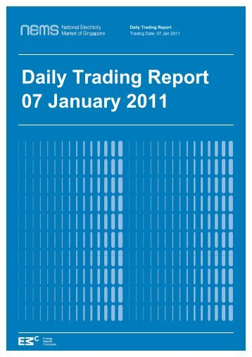Daily Trading Report 07 January 2011 - EMC - Energy Market ...