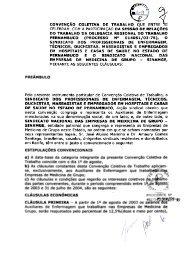 Enfermeiros, Técnicos x Medicina de Grupo 03-04 - Ministério do ...