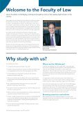 Law Undergraduate Prospectus 2014 - Faculty of Law - The ... - Page 2