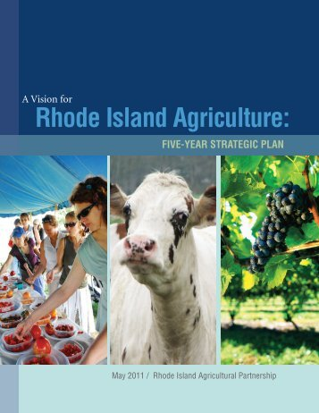 A Vision for Rhode Island Agriculture - American Farmland Trust