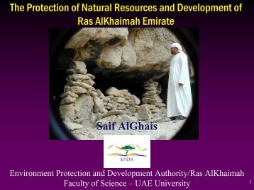 The Protection of Natural Resources and Development ... - RAK - CAM