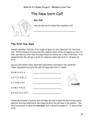 Alberta 4-H Bison Project – Member Level Two