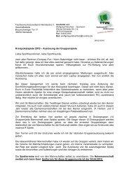 Auslosung Gruppenrunde - Tischtennis-Kreisverband Helmstedt eV