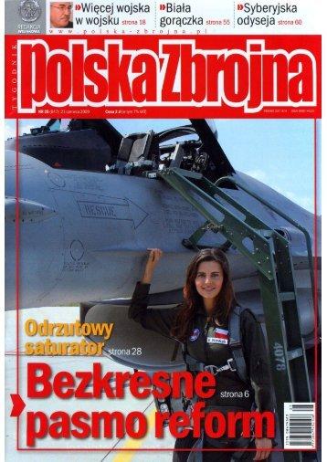 Polska Zbrojna (21 CZERWCA 2009 NR 25) - TELDAT
