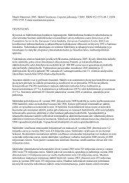 Lataa julkaisun tiivistelmä PDF - Cupore