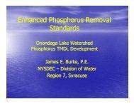 Enhanced Phosphorus Removal Standards