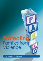 Protecting Families from Violence: The Singapore Experience