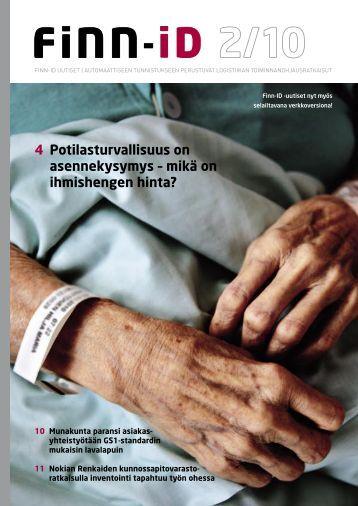 4 Potilasturvallisuus on asennekysymys – mikä on ... - Finn-ID
