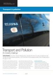 Transport and Pollution - EIC Guide