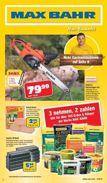 3 nehmen, 2 zahlen - Max Bahr
