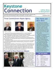Spring/Summer Edition of Keystone Connection - Pennsylvania ...